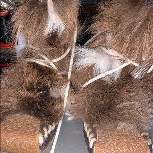"""Dior """"Eskimo"""" moccasins. Ankle. String up"""